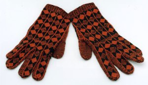 Gloves from the NAtional Museum of Scotland